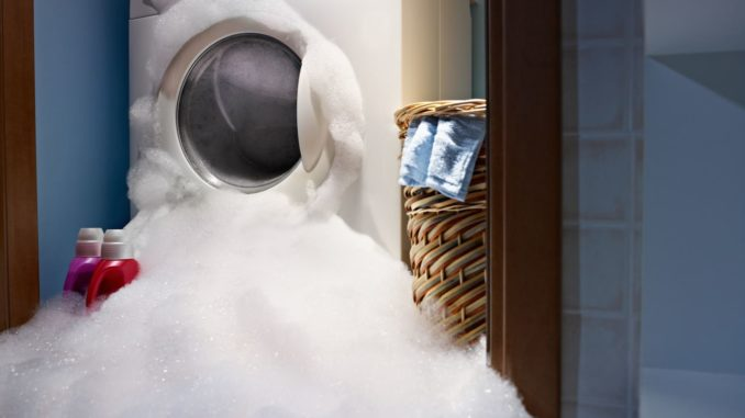 Rucksack waschen