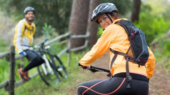 Fahrradrucksack erklärt im Bild