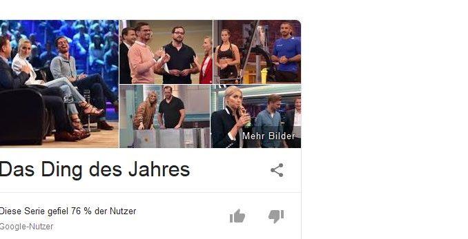 "Show: ""Das Ding des Jahres"""